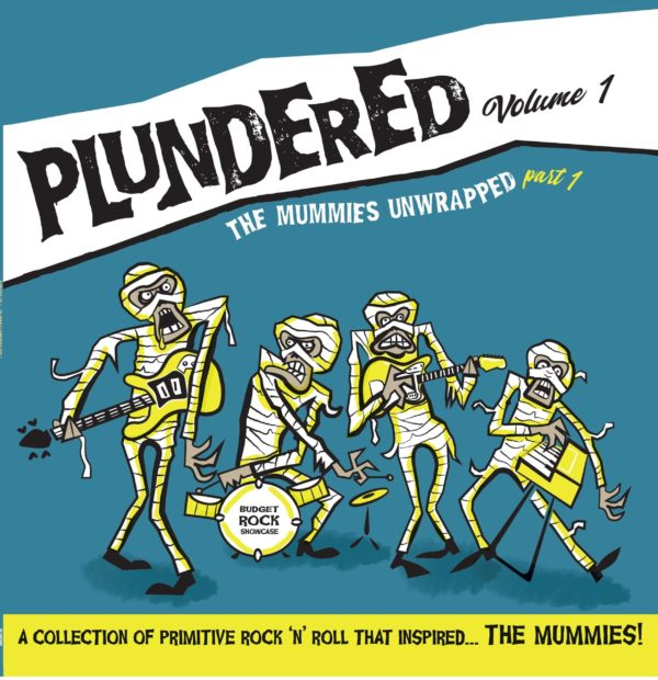 LP.  V.A. : Plundered Vol 1.   (Songs The Mummies Taught Us)