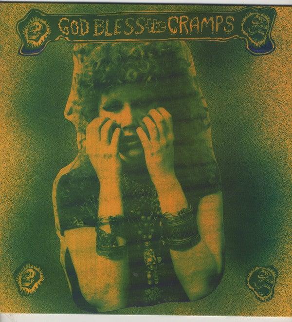 LP. The Cramps : God Bless The Cramps.   Ltd Edition.