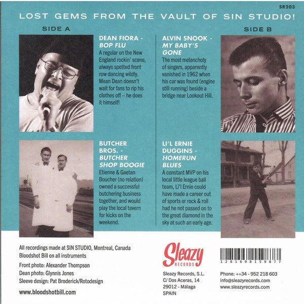"7"" EP.  Bloodshot Bill :  Lost Gems From Sin City Vol 1."