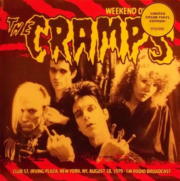 LP.  The Cramps : Weekend On Mars.  Coloured vinyl.