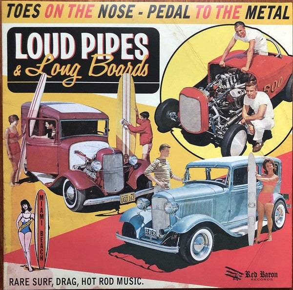 LP. V.A. : Loud Pipes & Long Boards.       Ltd Edition.