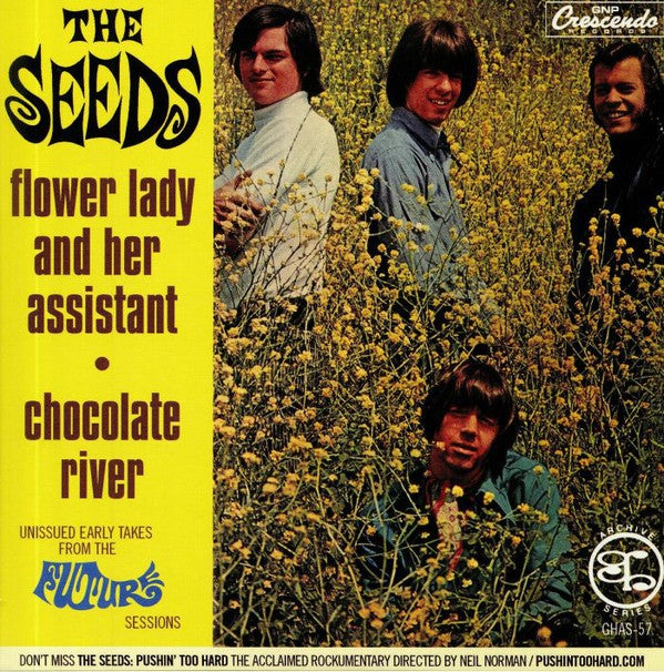 """7"""". The Seeds : Flower Lady & Her Assistant.   Ltd Edition."""