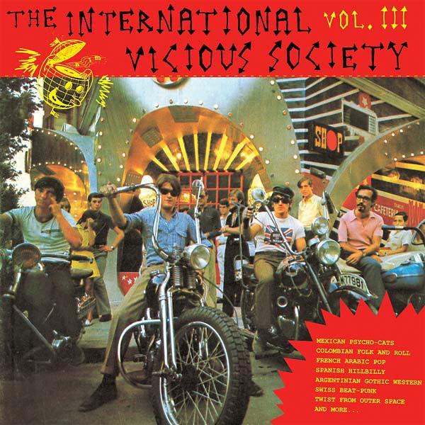 LP. V.A. : International Vicious Society Vol 3.