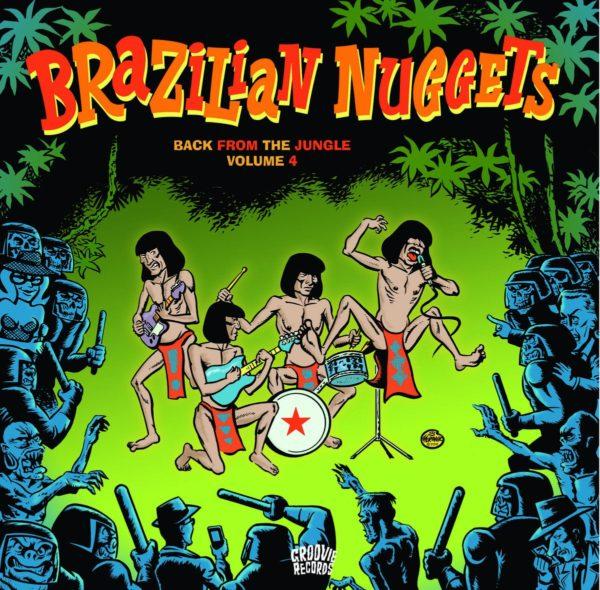 LP. V.A. : Brazilian Nuggets Vol 4.