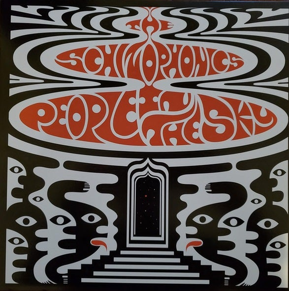 LP. The Schizophonics : People In The Sky.