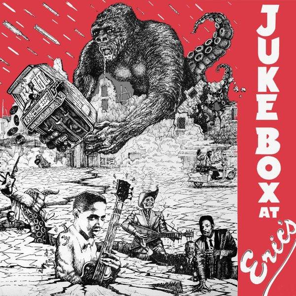 LP.  V.A. : Jukebox at Erics.   Ltd edition Red vinyl, 500 copies.