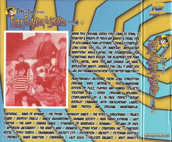 CD Box Set. V.A. : Fuzz, Flaykes & Shakes.   7 CD + 76 page booklet Box set.