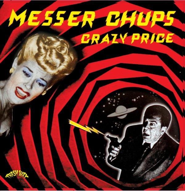 In Stock. LP. Messer Chups : CRazy Price.   Ltd Edition Release.