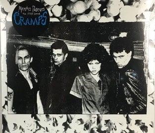 LP. The Cramps : Memphis Poseurs.   YELLOW Vinyl.  Alternate version.