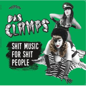 LP. Das Clamps : Shit Music For Shit People. Ltd Edition.