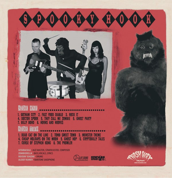 LP. Messer Chups : Spooky Hook.   Ltd Edition re-issue.
