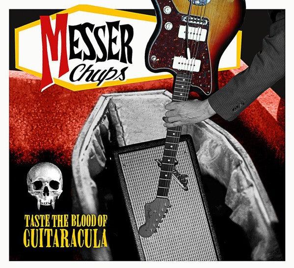 CD. Messer Chups : Taste The Blood Of Guitaracula.  Ltd Edition CD.
