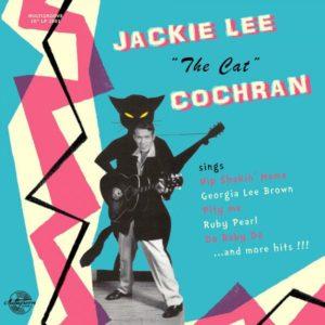 "10"" LP. Jackie Lee Cochran : The Cat.      Ltd Edition 10"""