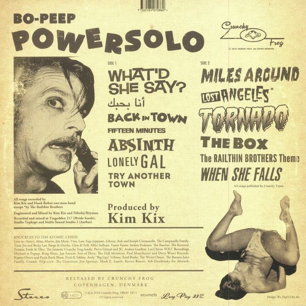 LP. Powersolo : Bo-Peep.   Latest stroke of genius !