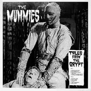 BACK IN STOCK.  LP The Mummies :  Tales From The Crypt.
