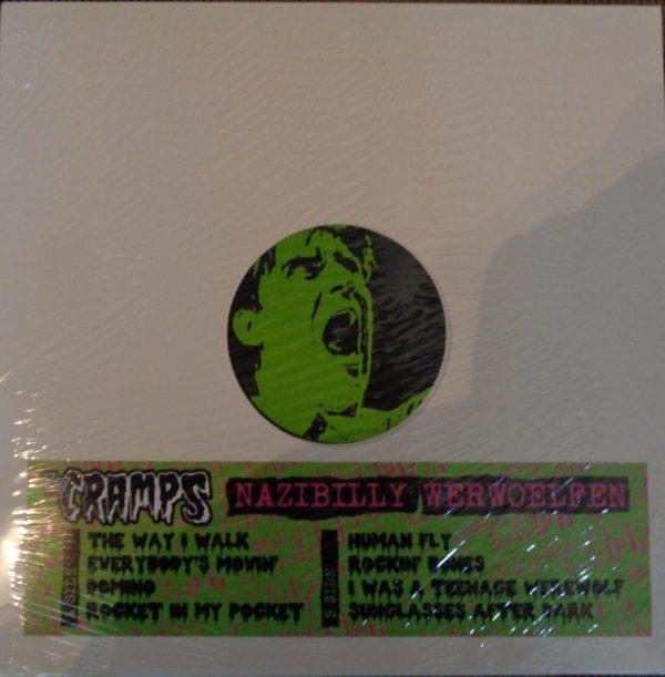 LP. The Cramps : N***Billy Werwoelfen.