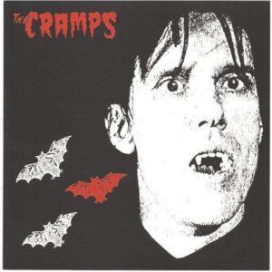 "7"" The Cramps : Sunglasses After Dark. Orange vinyl."