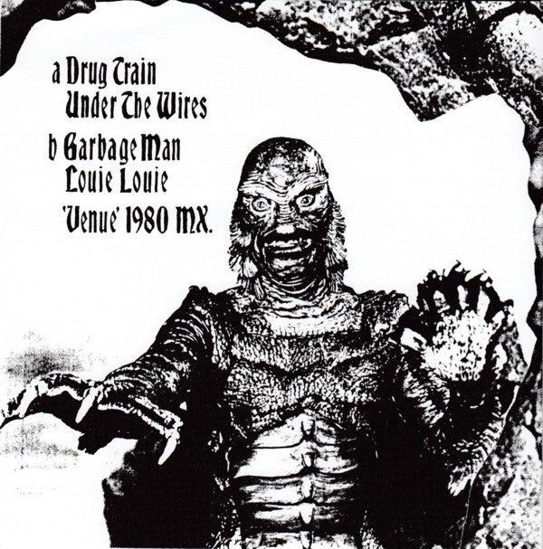 """7"""" EP. The Cramps : Venue 1980 Live.  GREEN Vinyl."""