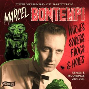 """Back In Stock. LP + 7"""" Marcel Bontempi : Witches, Spiders, Frogs & Holes."""