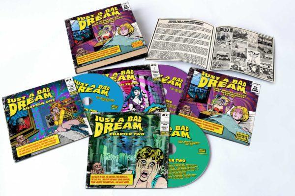 3 X CD Boxset. V.A. : Just A Bad Dream.  UK Trash & Garage 81-89.