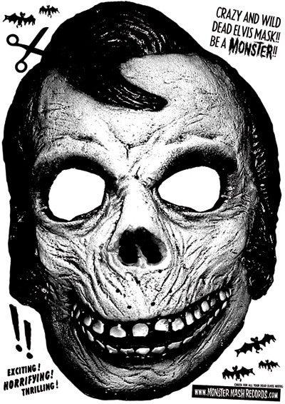 LP. Dead Elvis & His One Man Grave : Monster Masquerade.  Ltd Edition 300 copies.