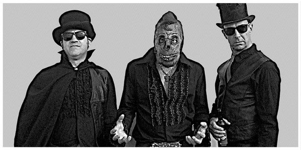 "10"" The Fabulous Dead Elvis & His Gravemen : 6 Bone Crackin' Hits.  Ltd Edition."