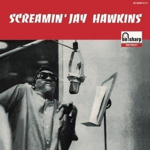 """Back In Stock. 10"""" LP Screamin' Jay Hawkins : S/T.  Ltd edition repro of French classic."""