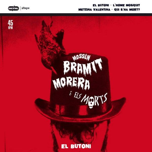 "7""EP. Mossen Bramit i els Morts : El Butoni +3.  (Human Fly in Spanish)"