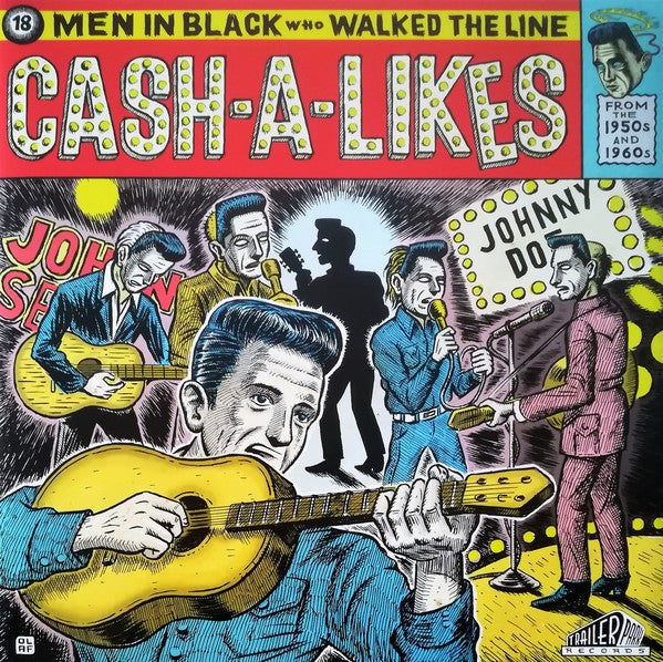 LP V.A. : Twisted Tales, Cash-A-Likes. Limited Edition.