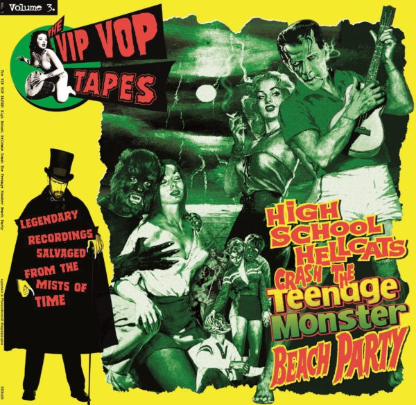 Back In Stock.  LP. V.A. : Vip Vop Tapes Vol 3.