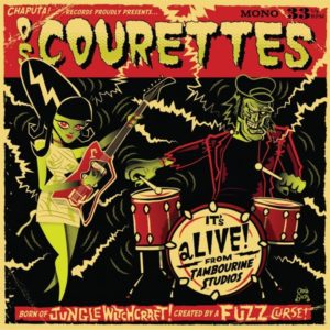 """10"""" LP Os Courettes : It's Alive !  Ltd Edition 'Swamp Green Vinyl'"""