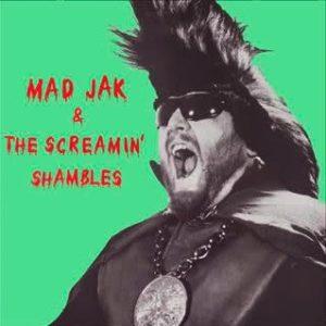 LP Mad Jak & The Screamin' Shambles : S/T