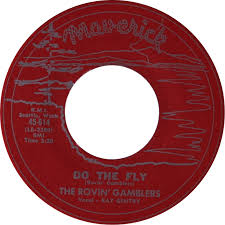 """7"""" The Rovin' Gamblers (& Ray Gentry) : Do The Fly."""