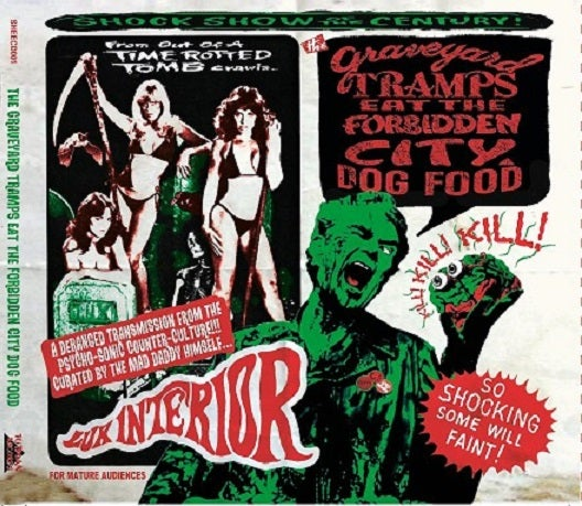 OUT NOW. CD : Graveyard Tramps Eat The Forbidden City Dogfood. Complete Vip Vop Tape.