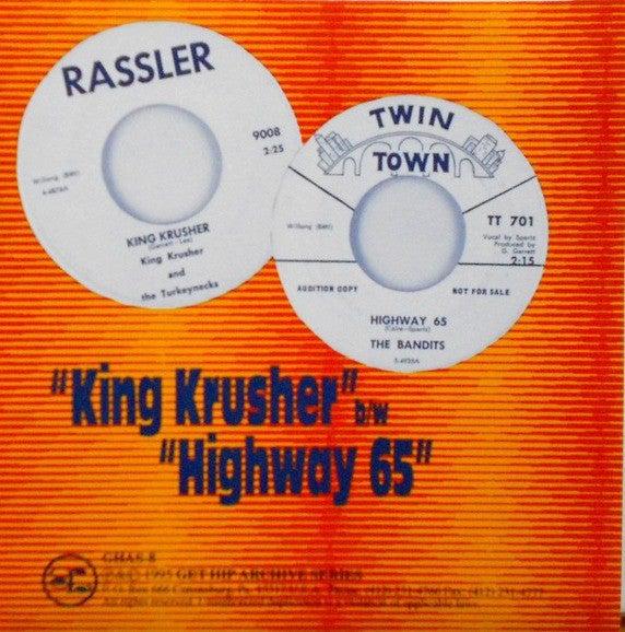 "7"" King Krusher & The Turkeynecks : King Krusher."