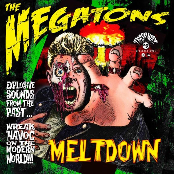 LP The Megatons : Meltdown. Ltd Edition.
