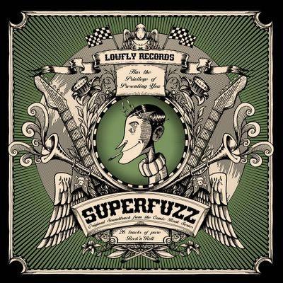 CD. V.A. : SUPERFUZZ.  26 Tracks of Trashy RnR.