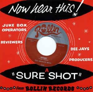 "7"" The Sirocco Bros : Shake / Davy Jones Locker."