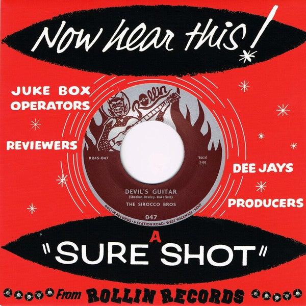 "7"" The Sirocco Bros : Devil's Guitar / Bop (Featuring Richard Hawley).."