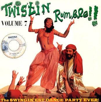 LP V.A. : Twistin Rumble. Volumes 1 to 10.