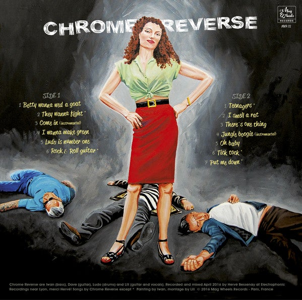 LP Chrome Reverse : They Wanna Fight.