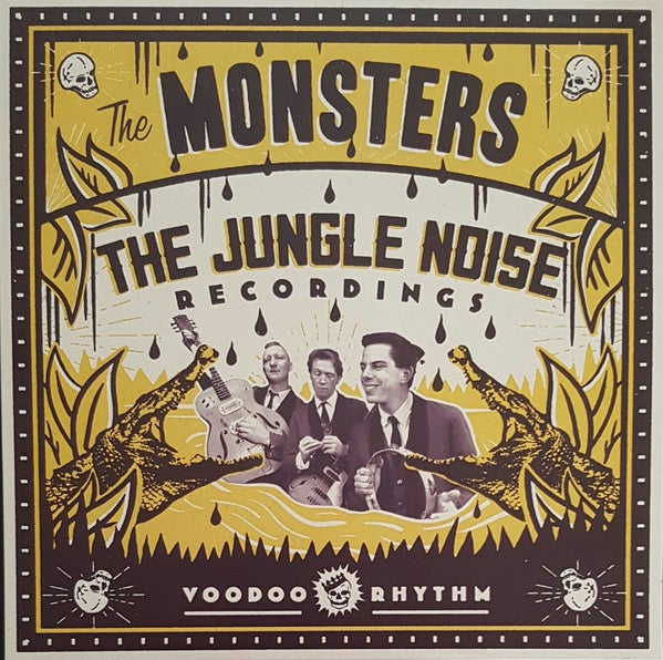 LP & CD The Monsters : The Jungle Noise Recordings.