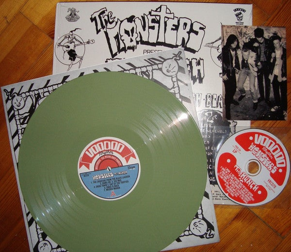 LP & CD The Monsters : The Hunch.   The 2nd album.