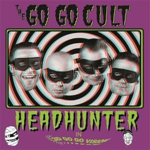 """10"""" The Go Go Cult : Headhunter. Ltd Edition Shocking Pink...."""